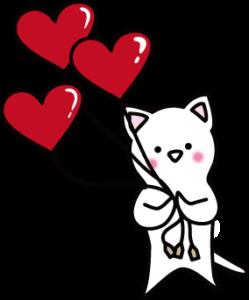 ハート、バレンタイン、愛、LOVEな感じのイラスト