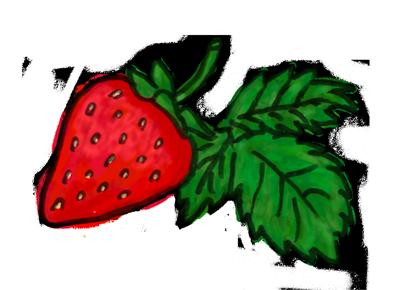 苺(ストロベリー)のイラスト