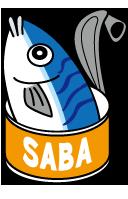 サバ缶(鯖)のイラスト